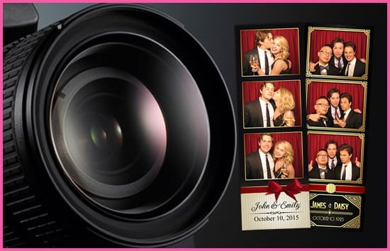 Rent a photo booth