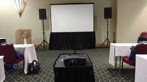 audio visual sales rental and service provider